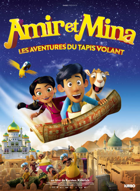 Affiche du film Amir et Mina : Les aventures du tapis volant