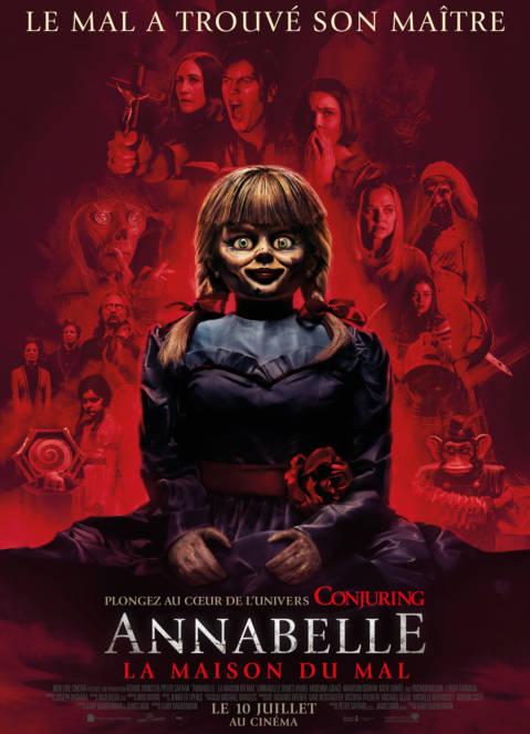 Affiche du film Annabelle – La Maison Du Mal