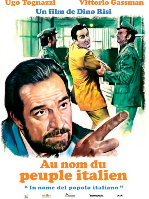 Affiche du film Au nom du peuple italien