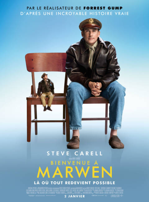 Affiche du film Bienvenue à Marwen