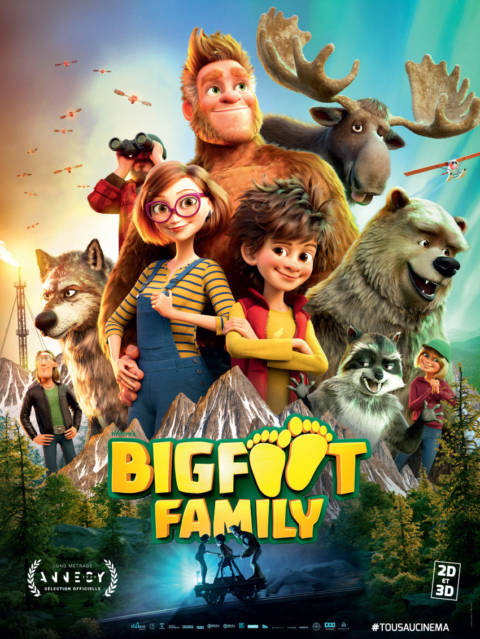 Affiche du film Bigfoot Family