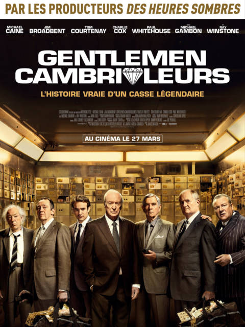 Affiche du film Gentlemen cambrioleurs