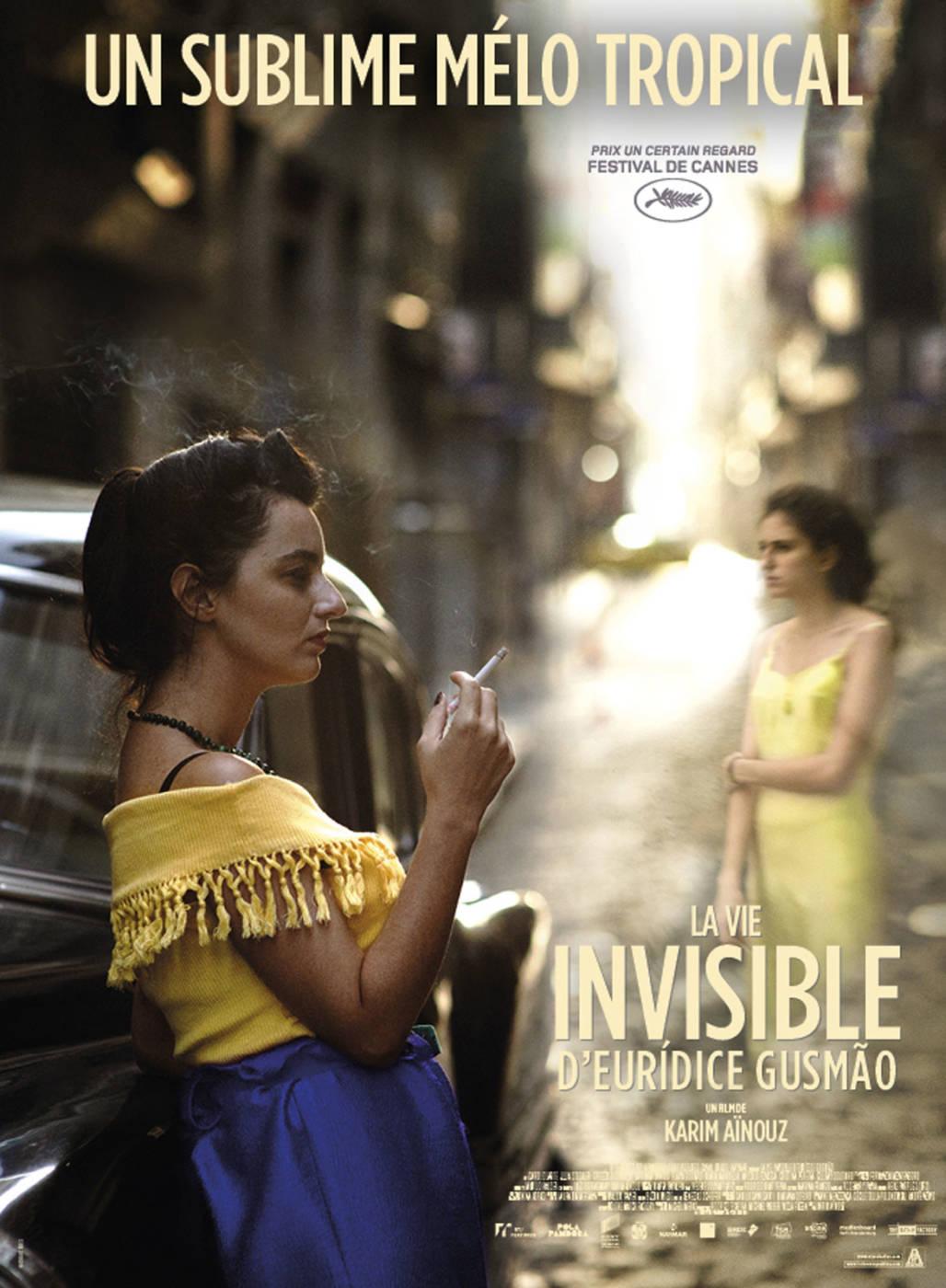 Affiche du film La Vie invisible d'Eurídice Gusmão