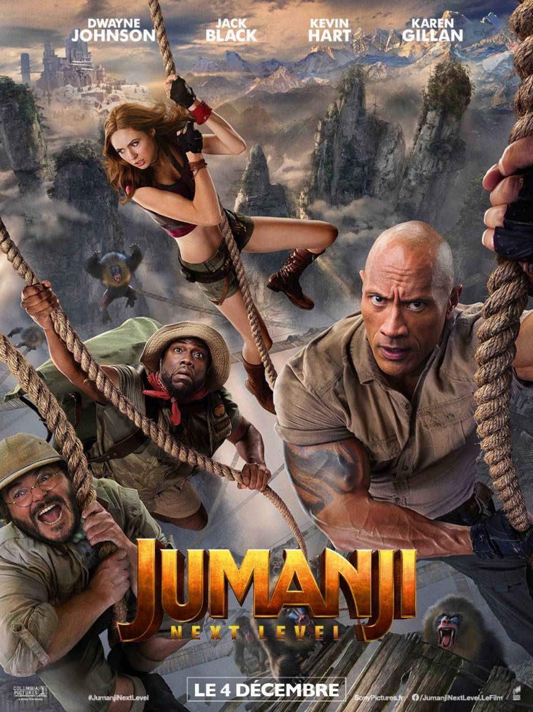 Affiche du film Jumanji: next level