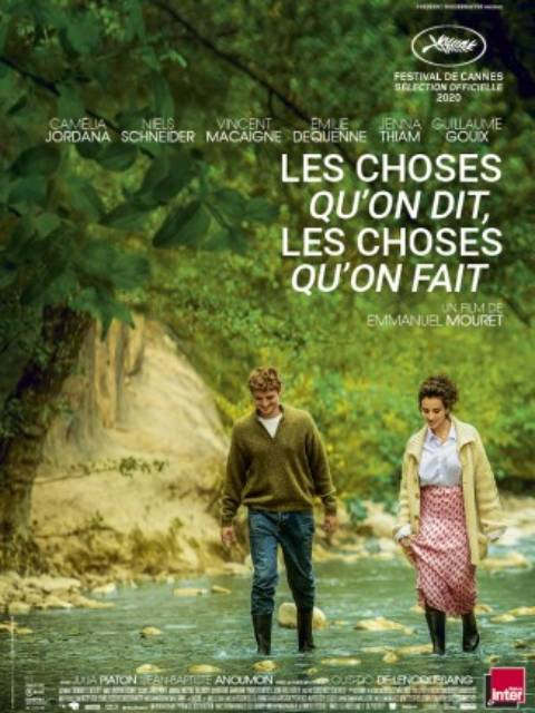 Affiche du film Les Choses qu'on dit, les choses qu'on fait