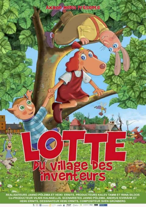 Affiche du film Lotte, du village des inventeurs