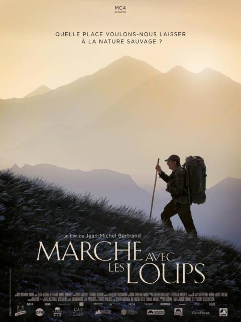 Affiche du film Marche avec les loups