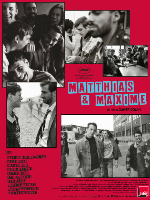 Affiche du film Matthias & Maxime