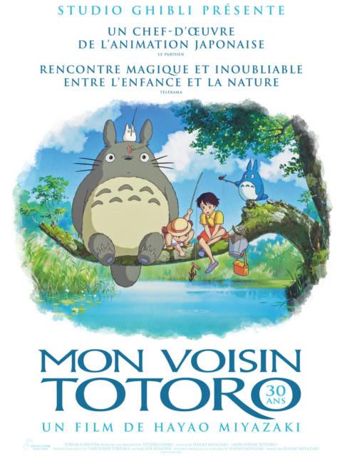Affiche du film Mon voisin Totoro