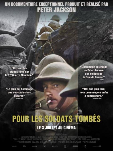 Affiche du film Pour les soldats tombés