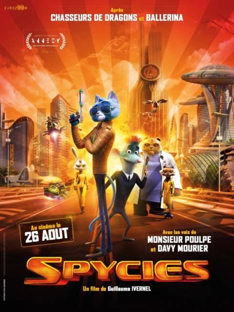 Affiche du film Spycies