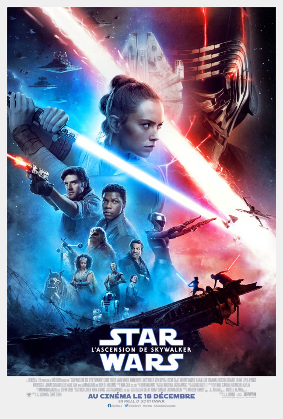Affiche du film Star Wars: L'Ascension de Skywalker
