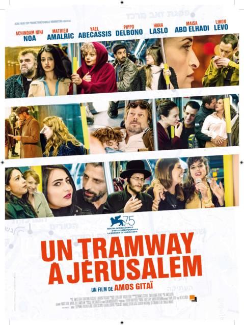 Affiche du film Un Tramway à Jérusalem