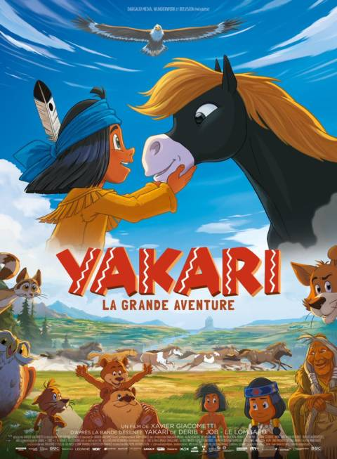 Affiche du film Yakari, le film